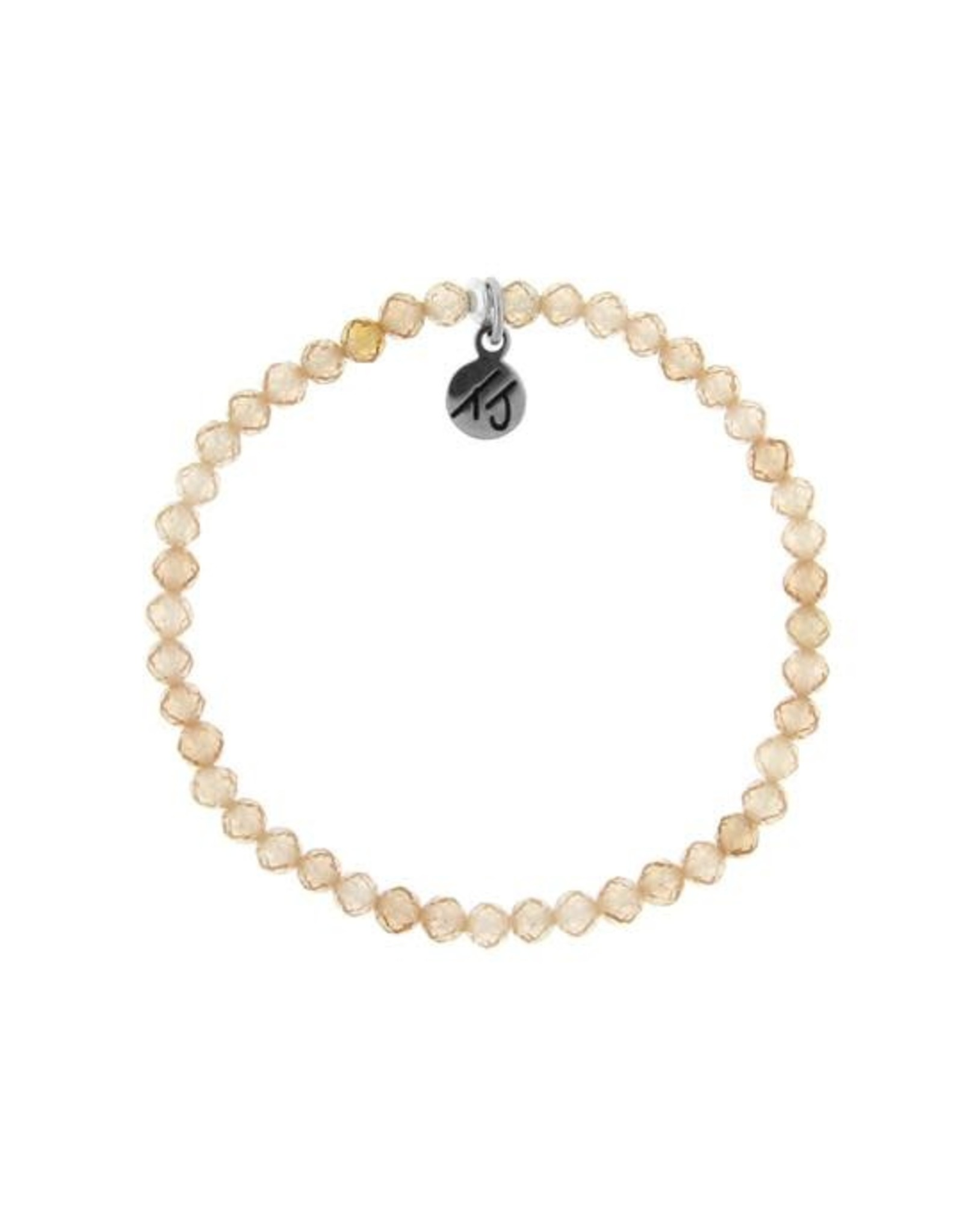 Little Blessings Champagne Bracelet