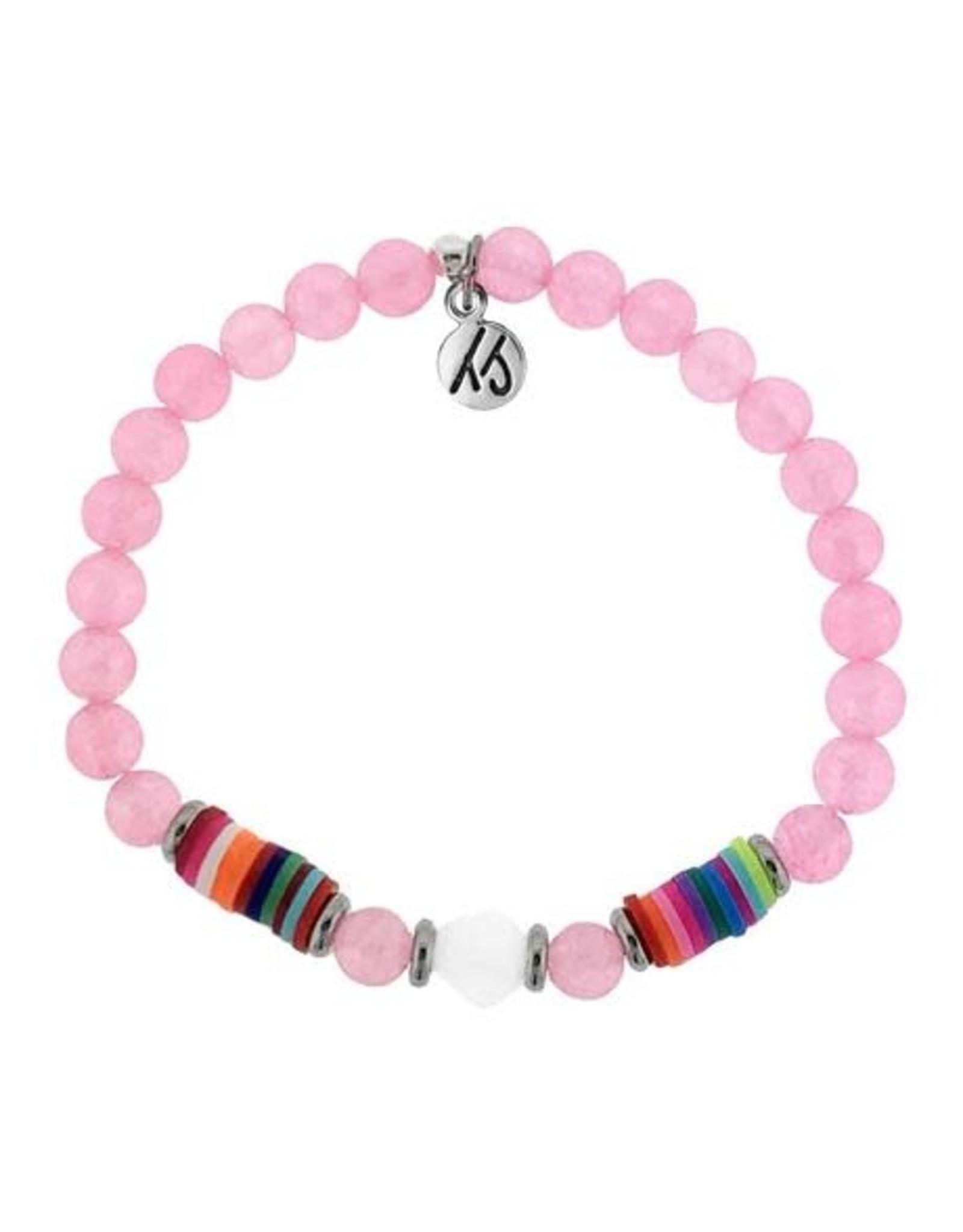 Pink Jade Bracelet