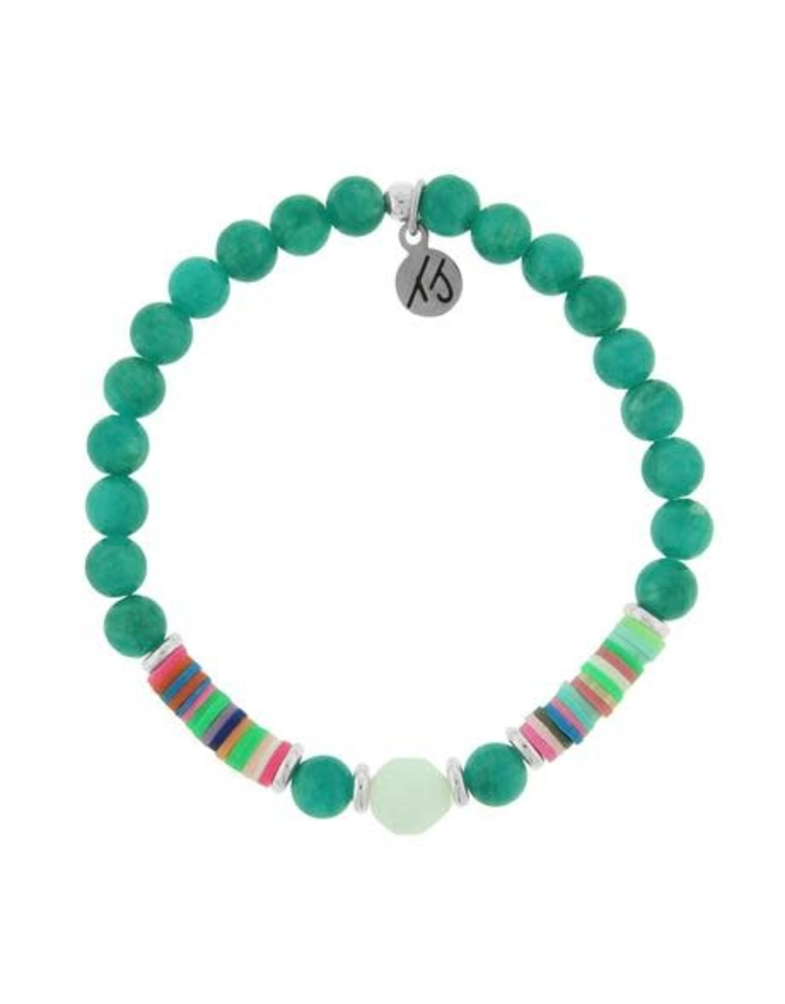 Teal Jade Bracelet