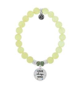 Yellow Calcite Love Always Wins Bracelet