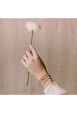 Scout- Tourmaline/Gold Delicate Bracelet
