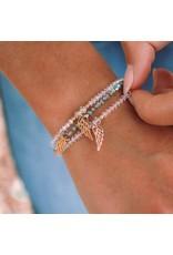 MSMH Angelic Light Love Bracelet Gold Paradise Shine