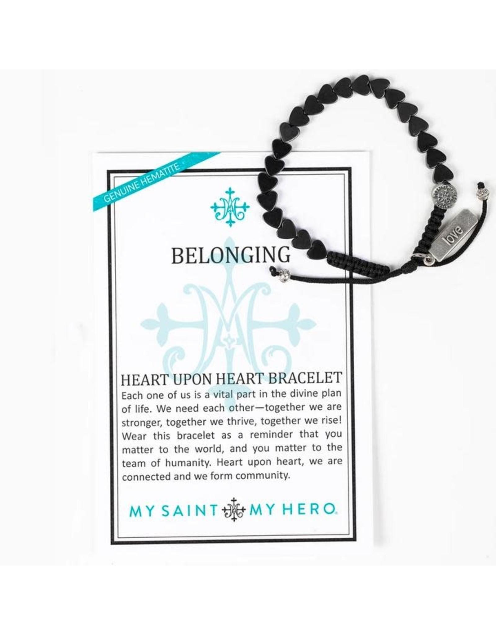 MSMH Belonging Heart Upon Heart Bracelet