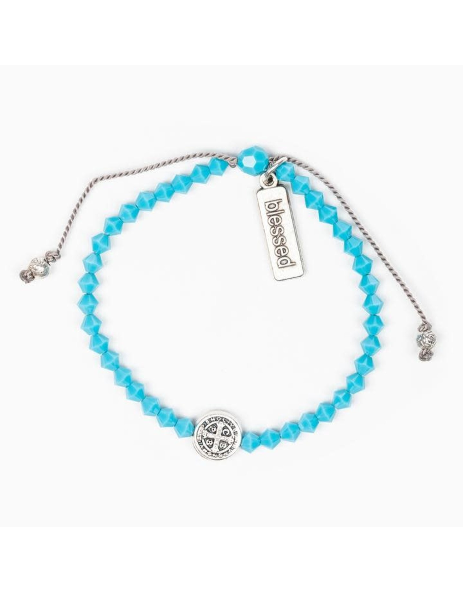 MSMH Birthday Blessing Bracelet- December Silver
