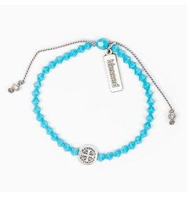 MSMH Birthday Blessing Bracelet- December Silver
