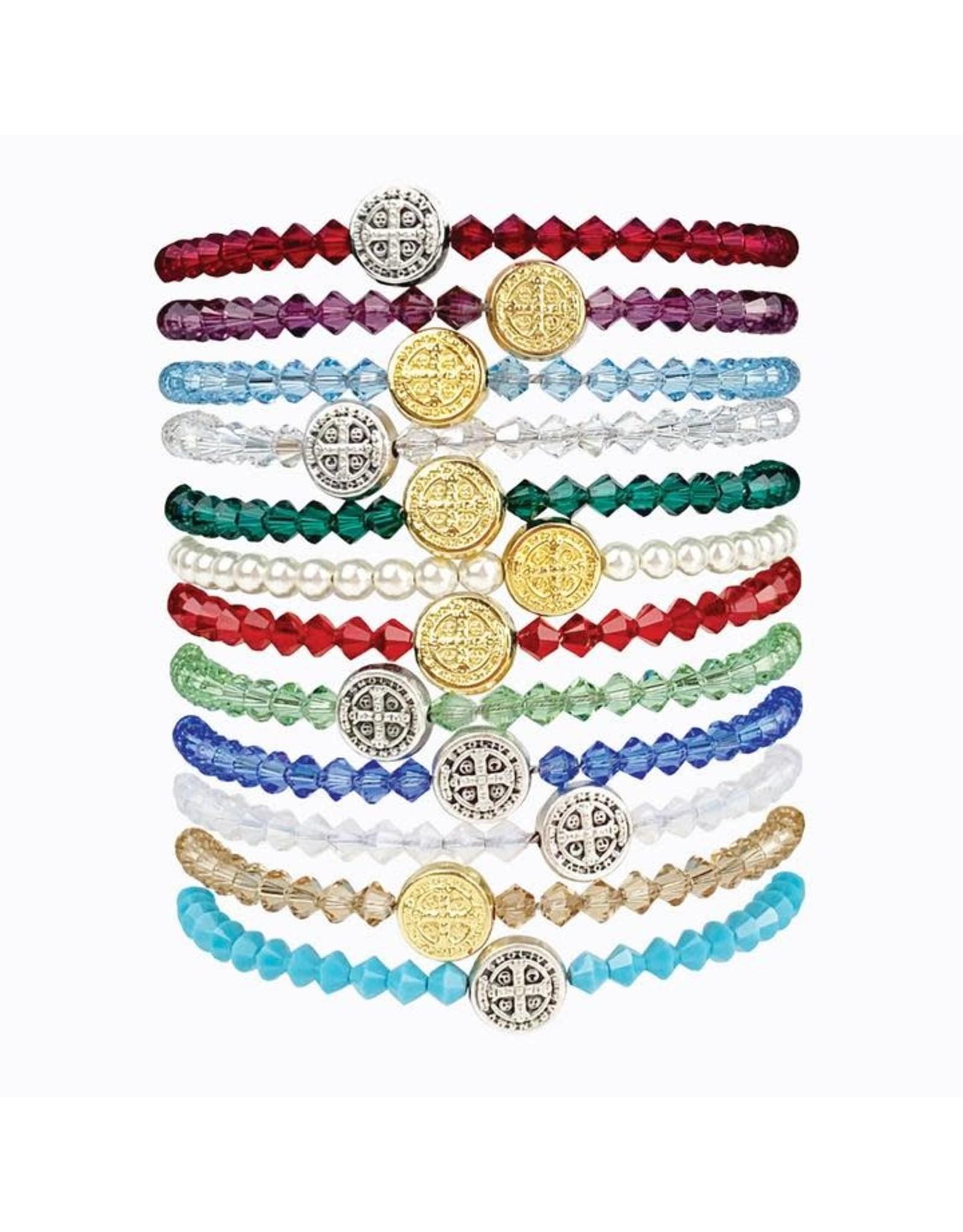 MSMH Birthday Blessing Bracelet- February Gold