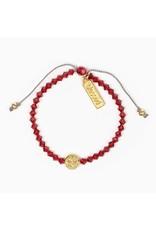 MSMH Birthday Blessing Bracelet- July Gold