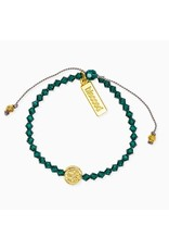 MSMH Birthday Blessing Bracelet- May Gold