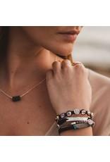 MSMH Wonder Crystal Bracelet- Black/Silver