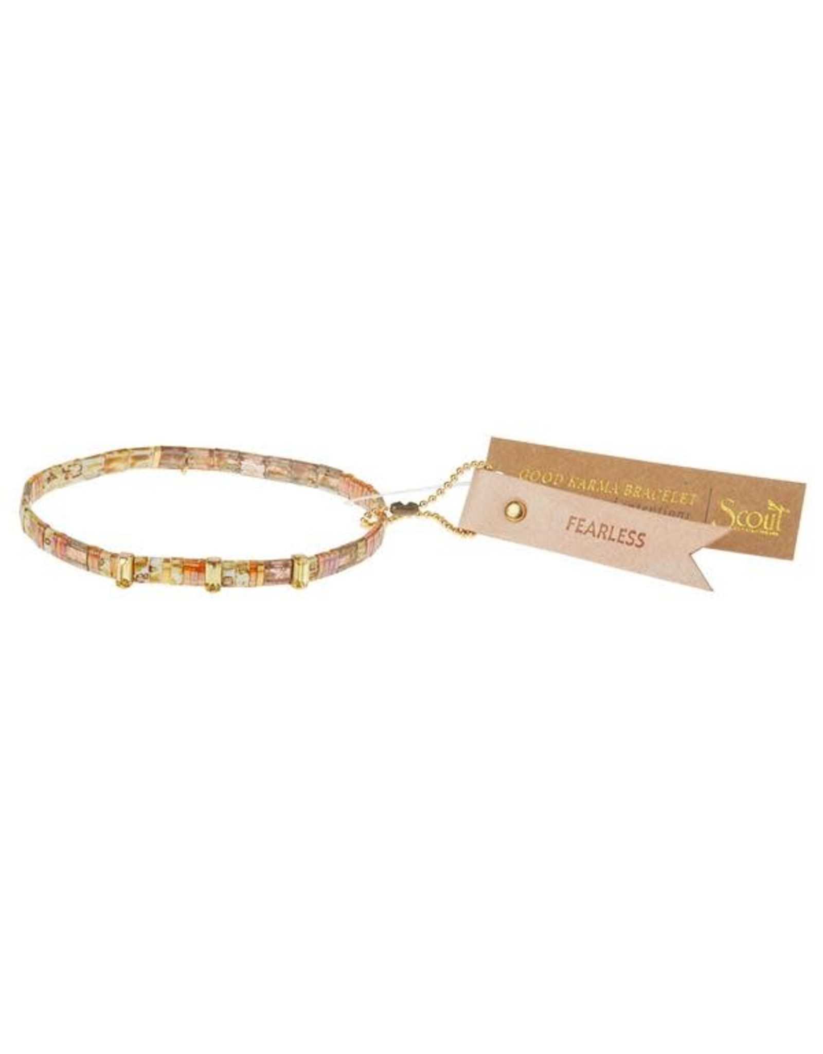 Scout Good Karma -Fearless- Tortoise/Sparkle/Gold