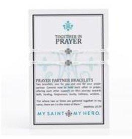 MSMH Prayer Partner Bracelets Silver/Silver