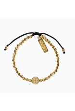 MSMH Mantra Of Love Bracelet- Gold/Black