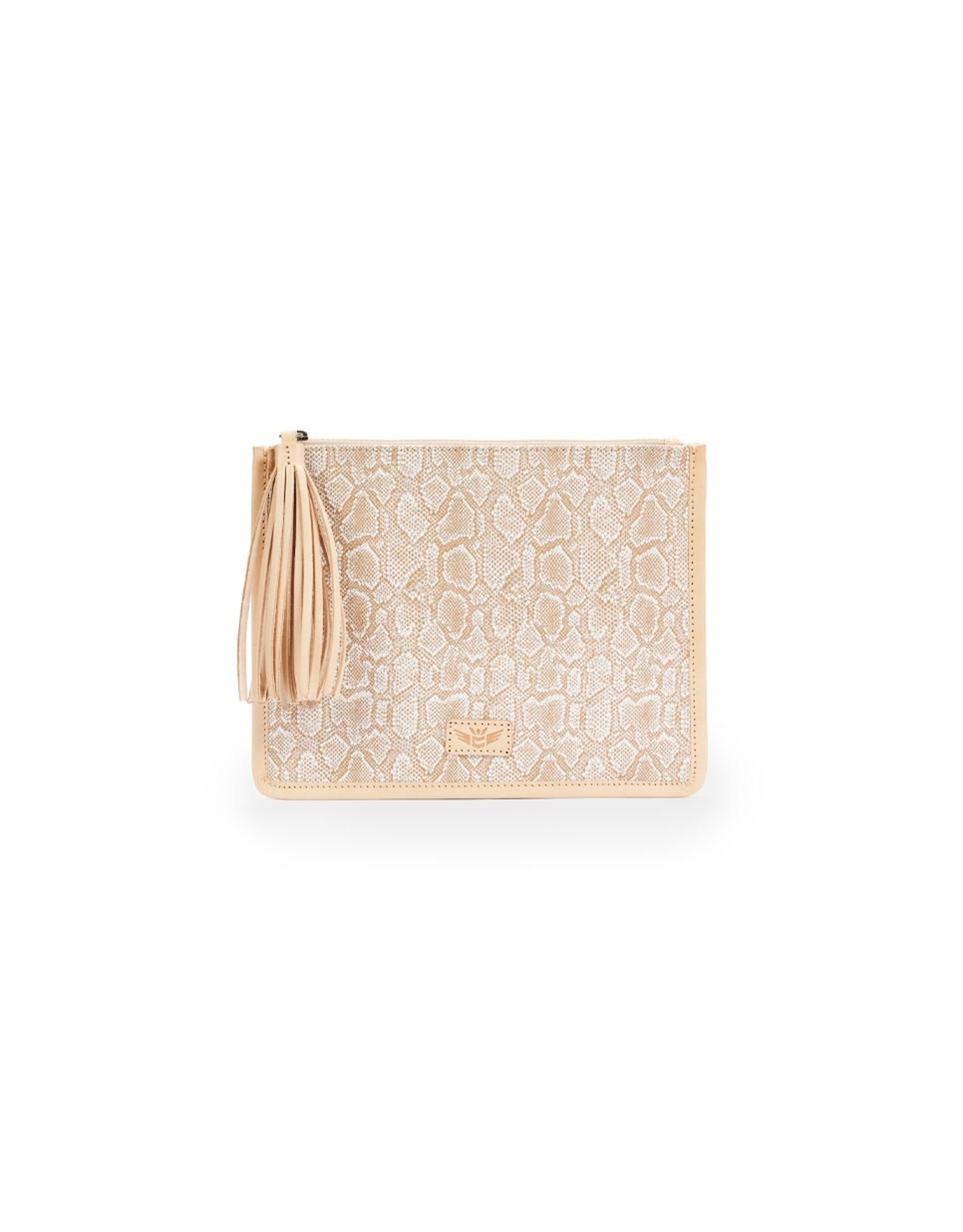 Anything Goes Pouch Clay Beige
