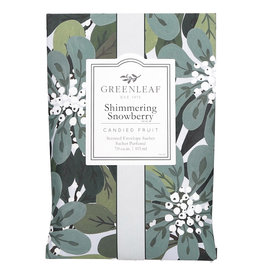 Greenleaf Shimmering Snowberry Sachet Large