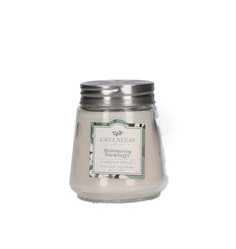 Greenleaf Shimmering Snowberry Candle Petite