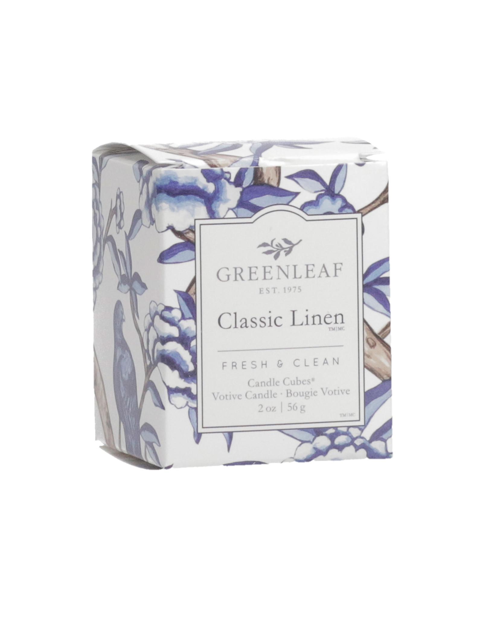 Greenleaf Classic Linen Candle Votive