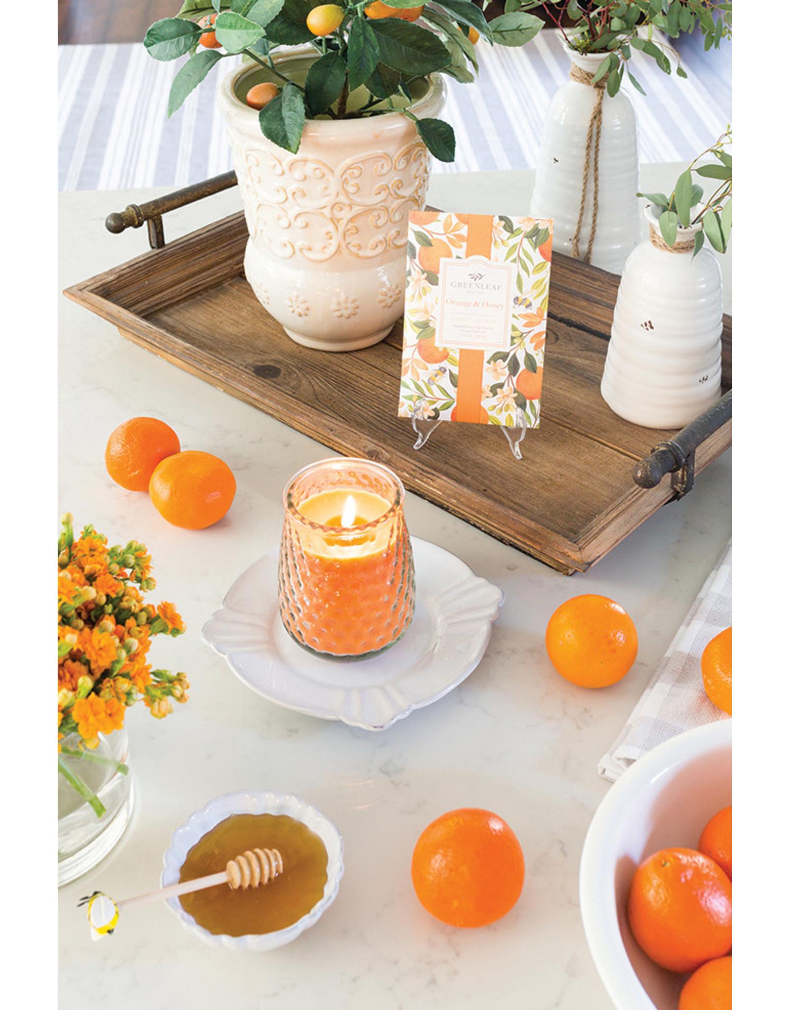 Greenleaf Orange & Honey Candle Signature