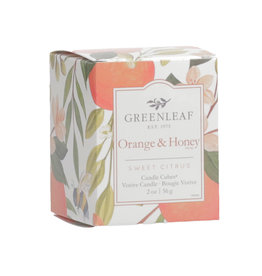 Greenleaf Orange & Honey Candle Votive
