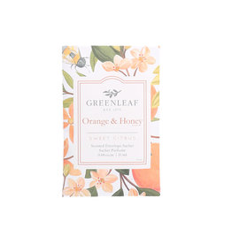 Greenleaf Orange & Honey Sachet Small