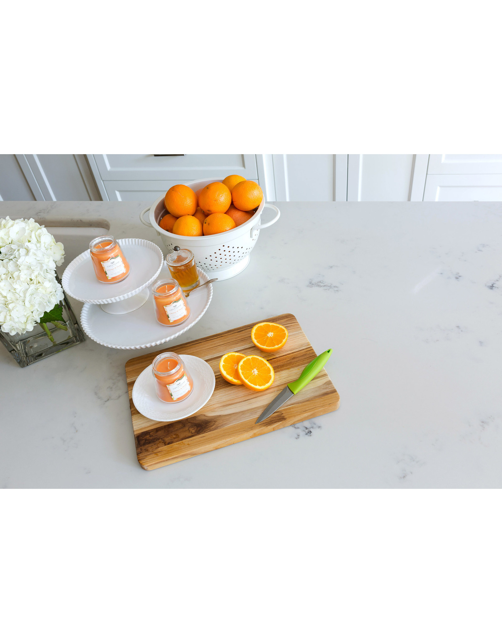 Greenleaf Orange and Honey Candle Petite