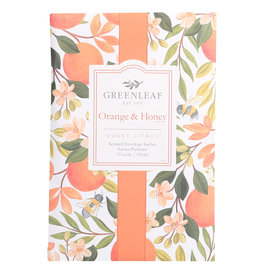 Greenleaf Orange and Honey Sachet Large