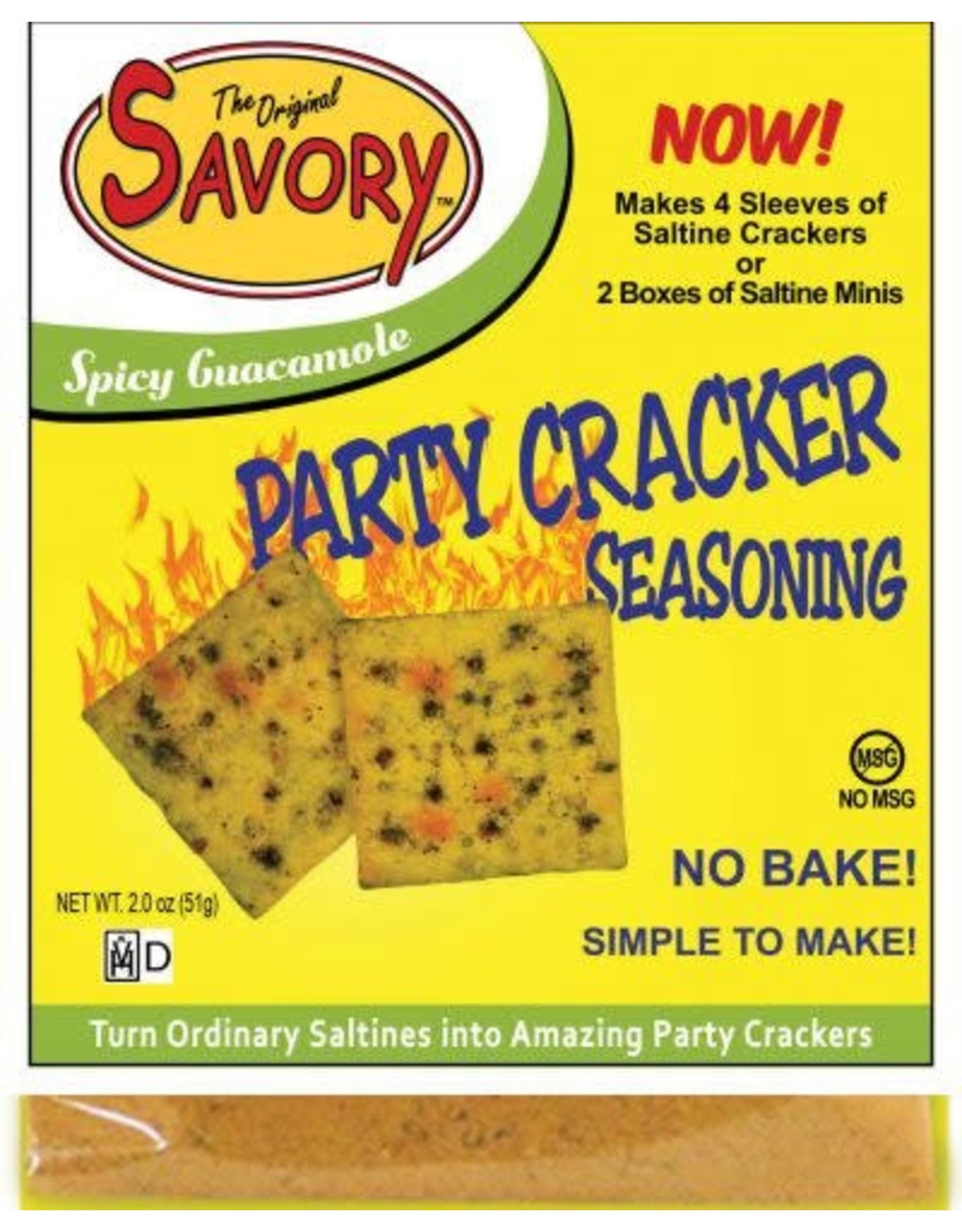 Savory Cracker Mix Spicy Guacamole