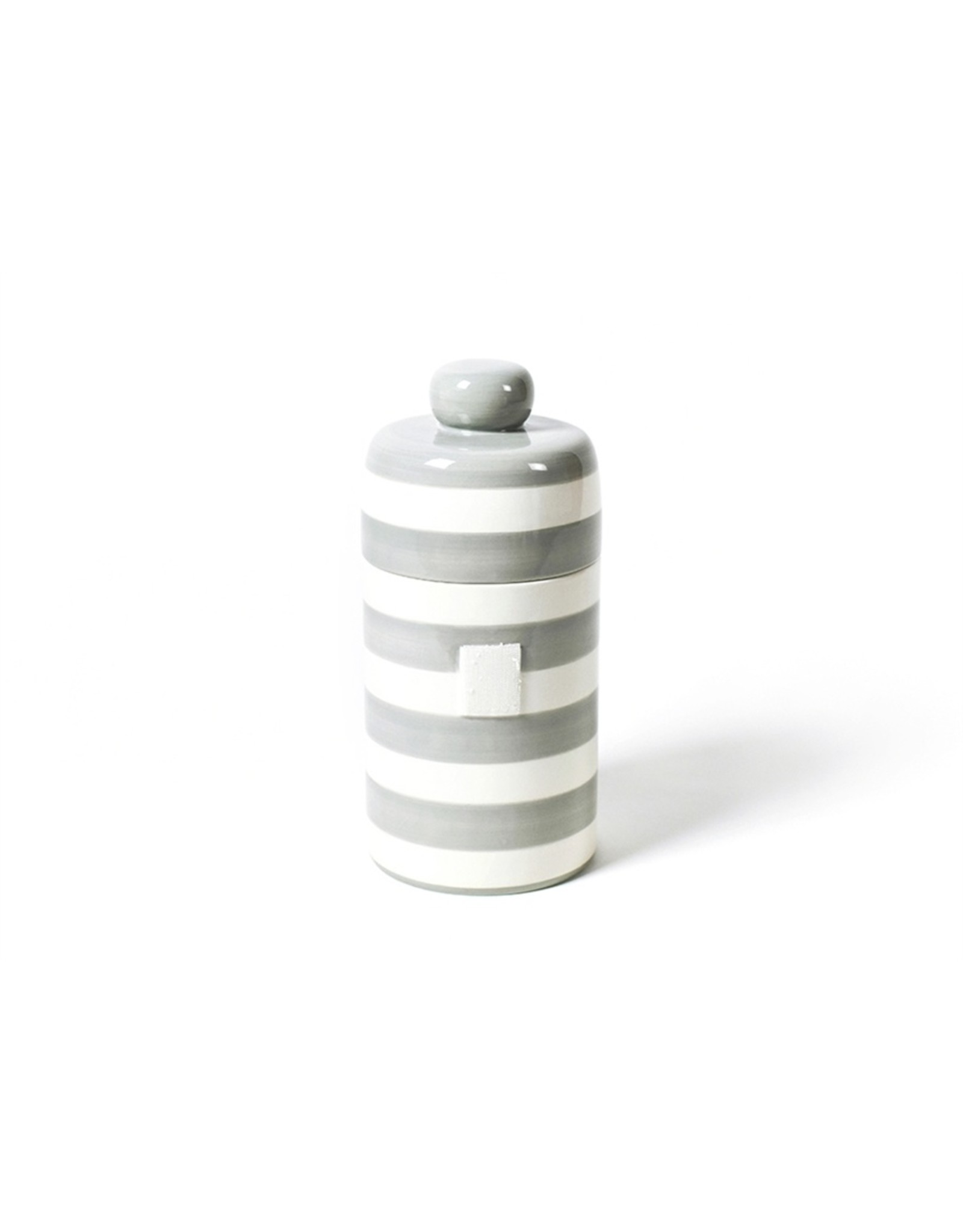 Stone Stripe Mini Canister