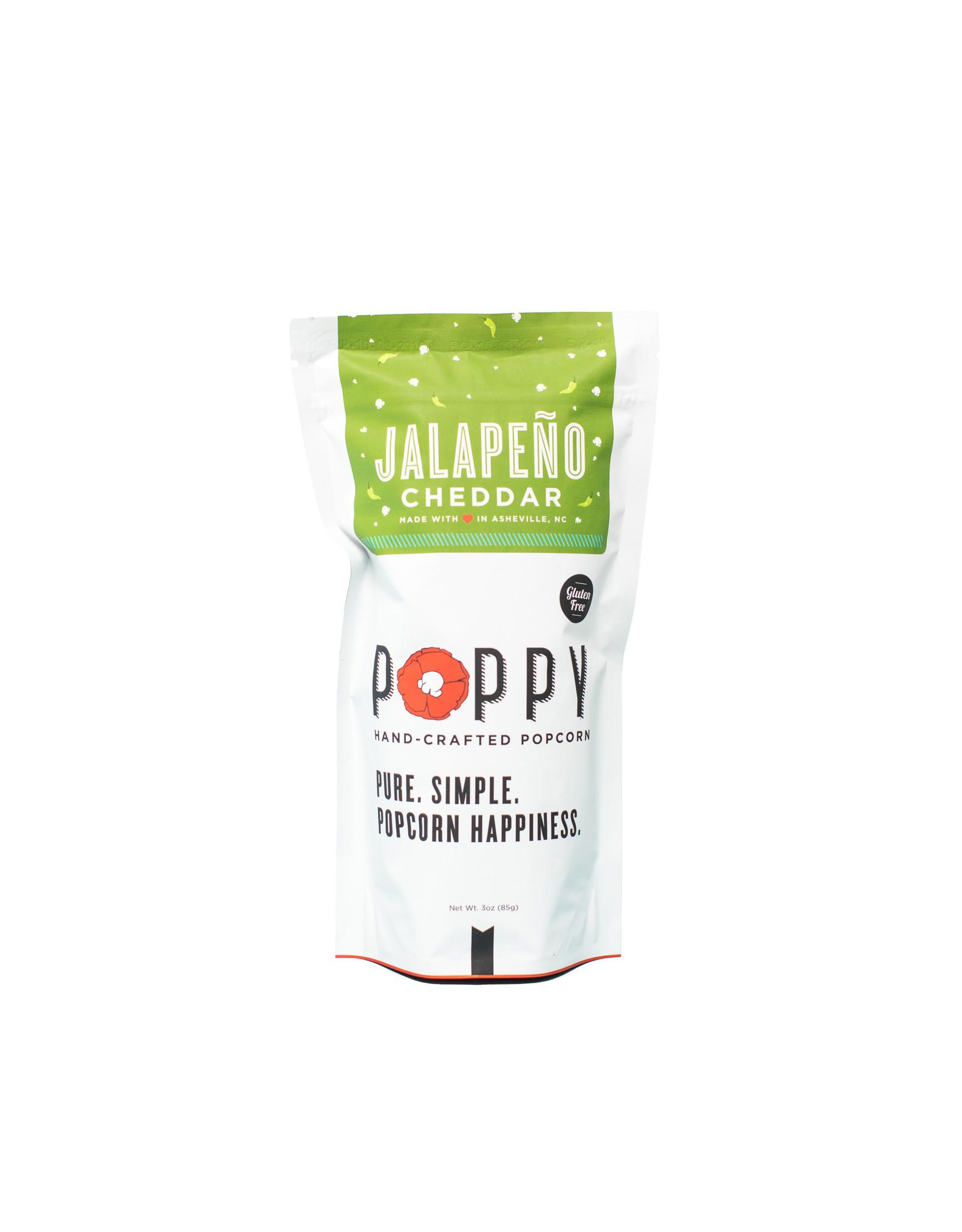 Poppy Jalapeno Cheddar Popcorn Market Bag