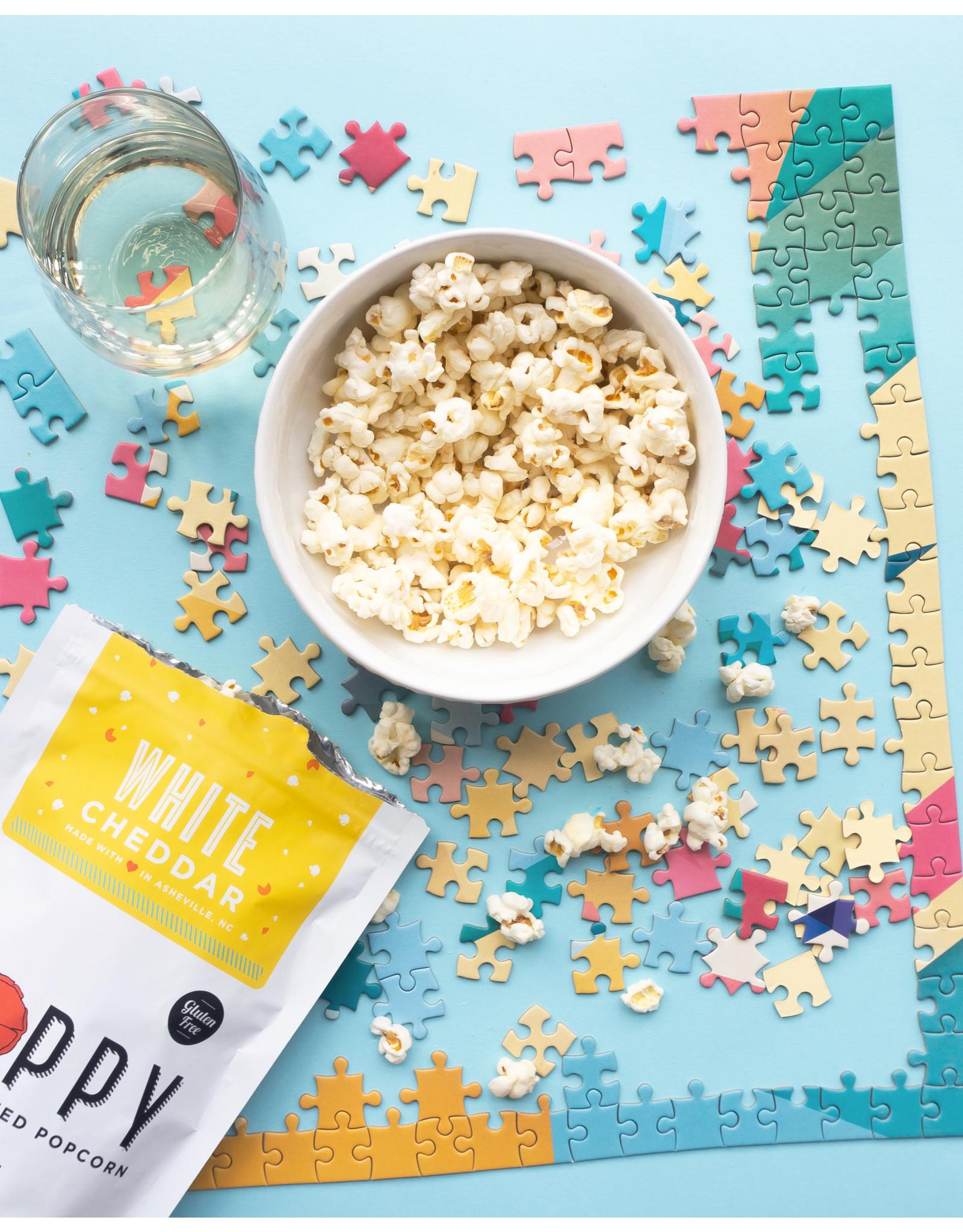 Poppy White Cheddar Popcorn Market Bag