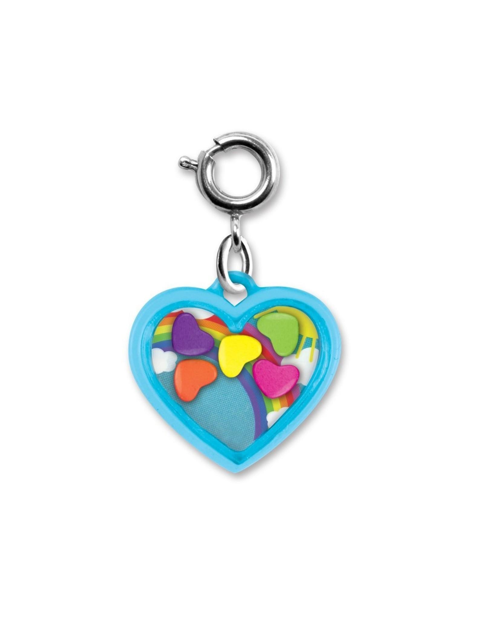 Charm-It Rainbow Heart Shaker