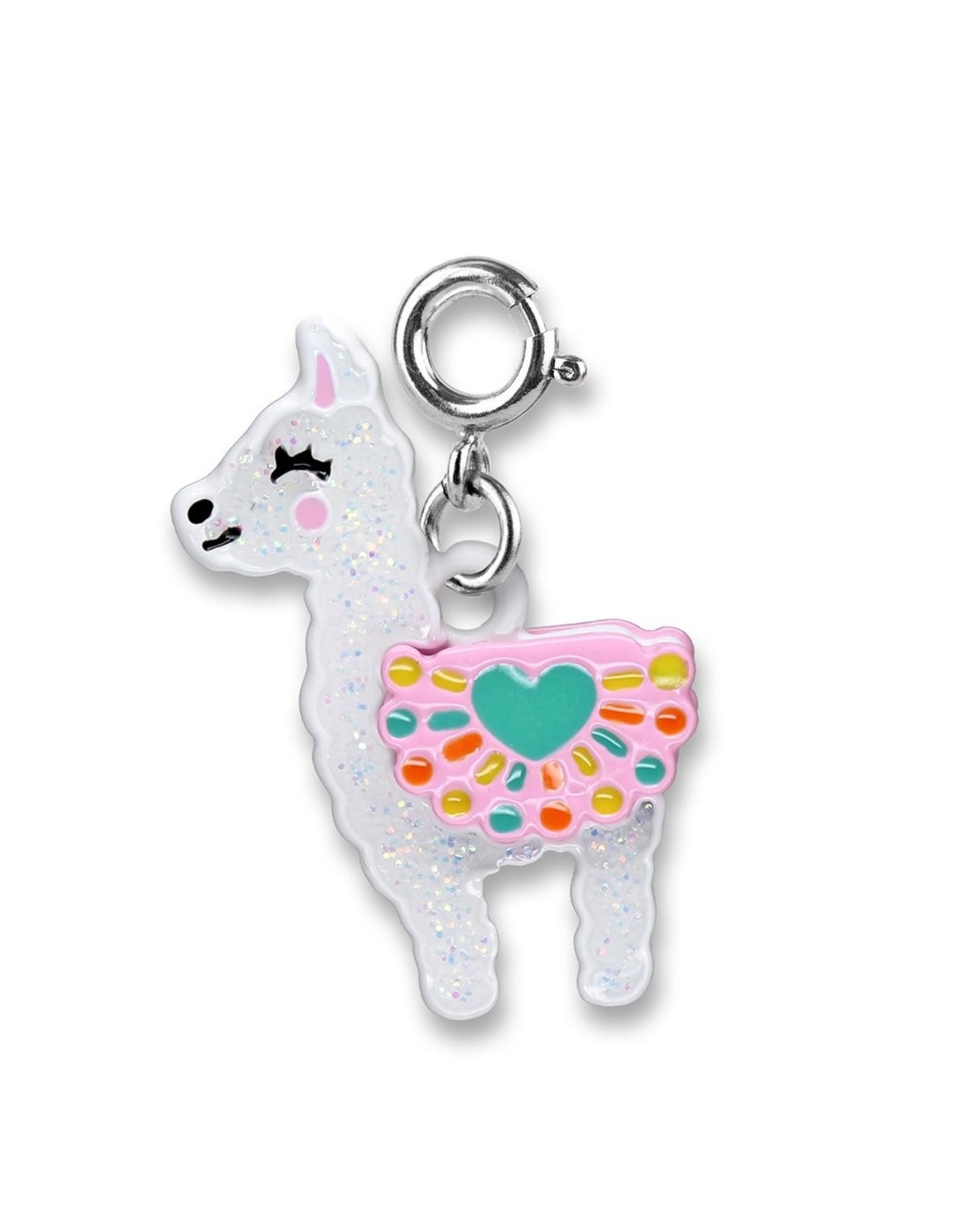 Charm-It Glitter Llama