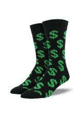 Socks Cha Ching Green Mens