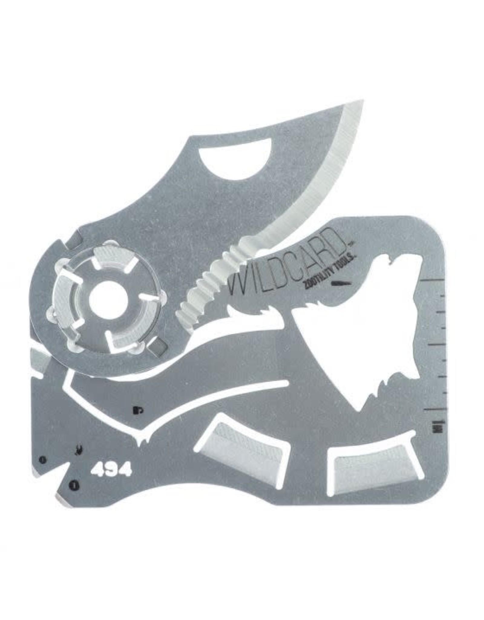 Zootility Wildcard Wallet Knife