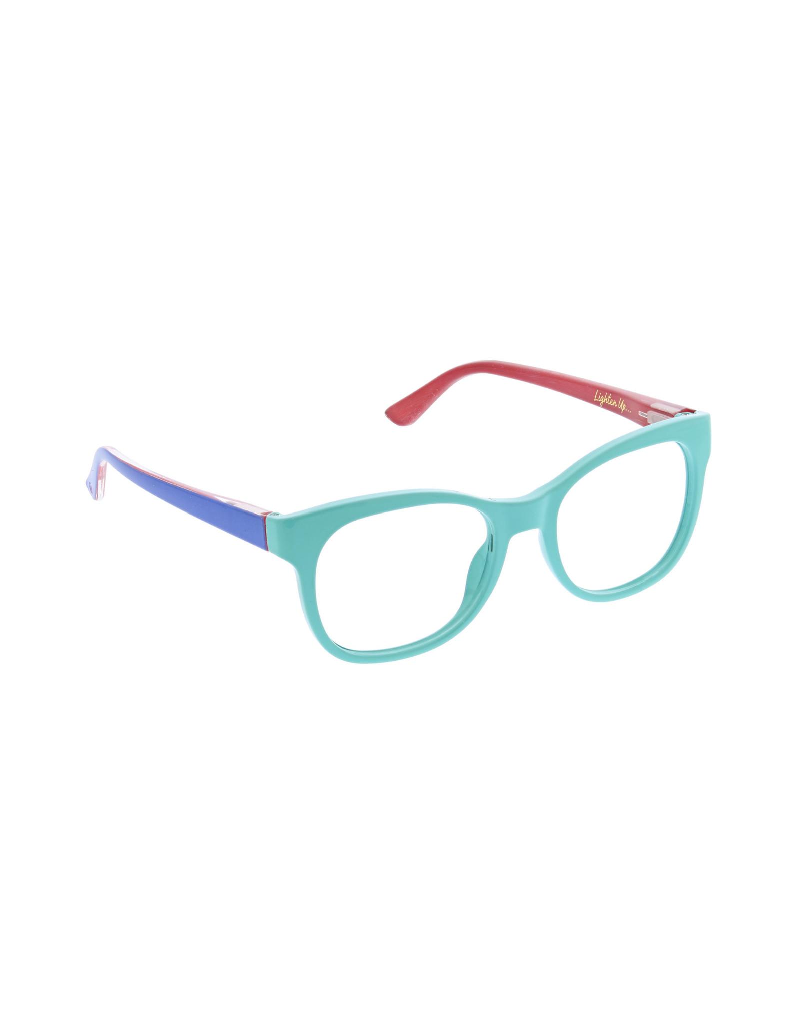 Peepers Light Bright Aqua/Blue + 2.25