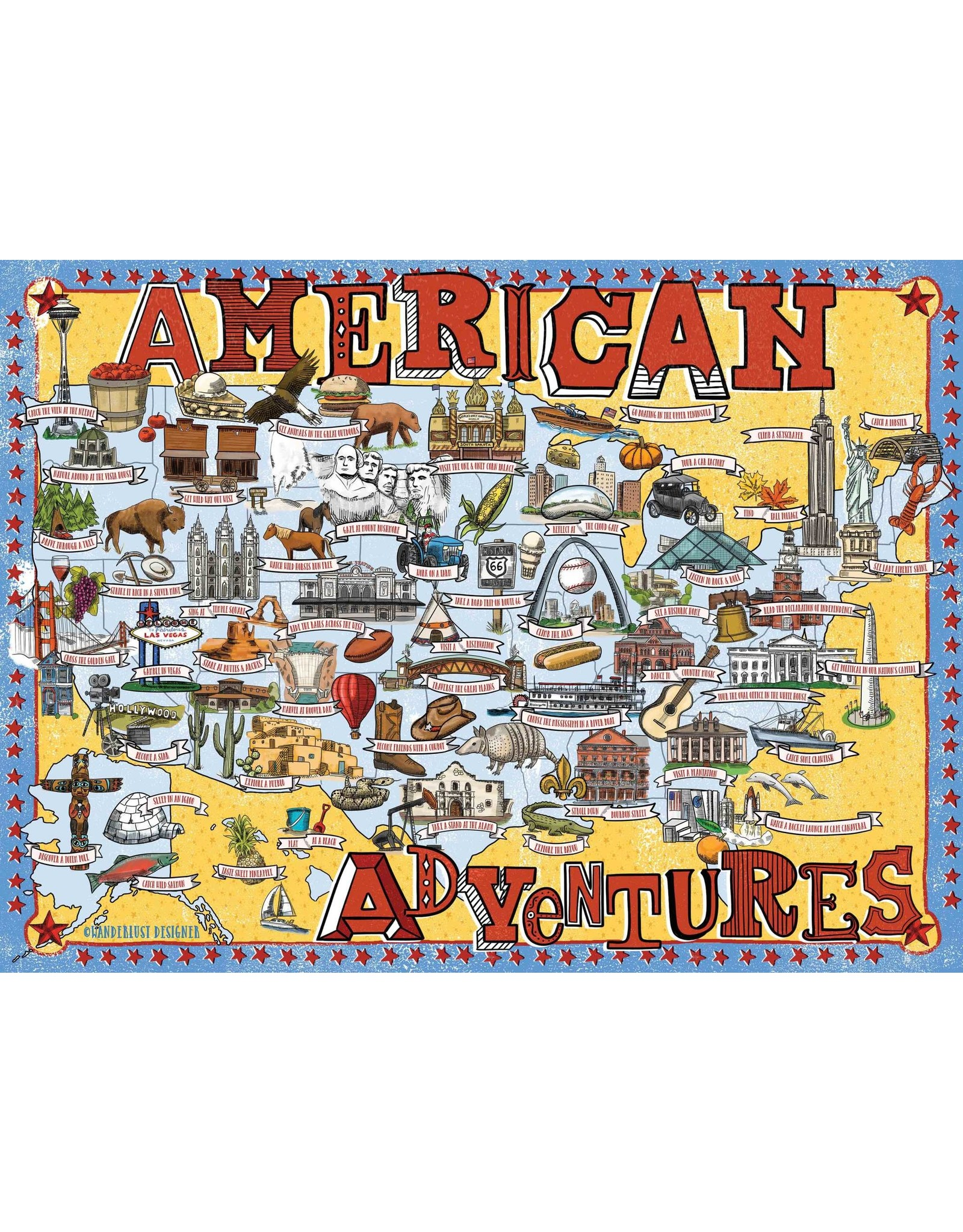 True South American Adventures Puzzle