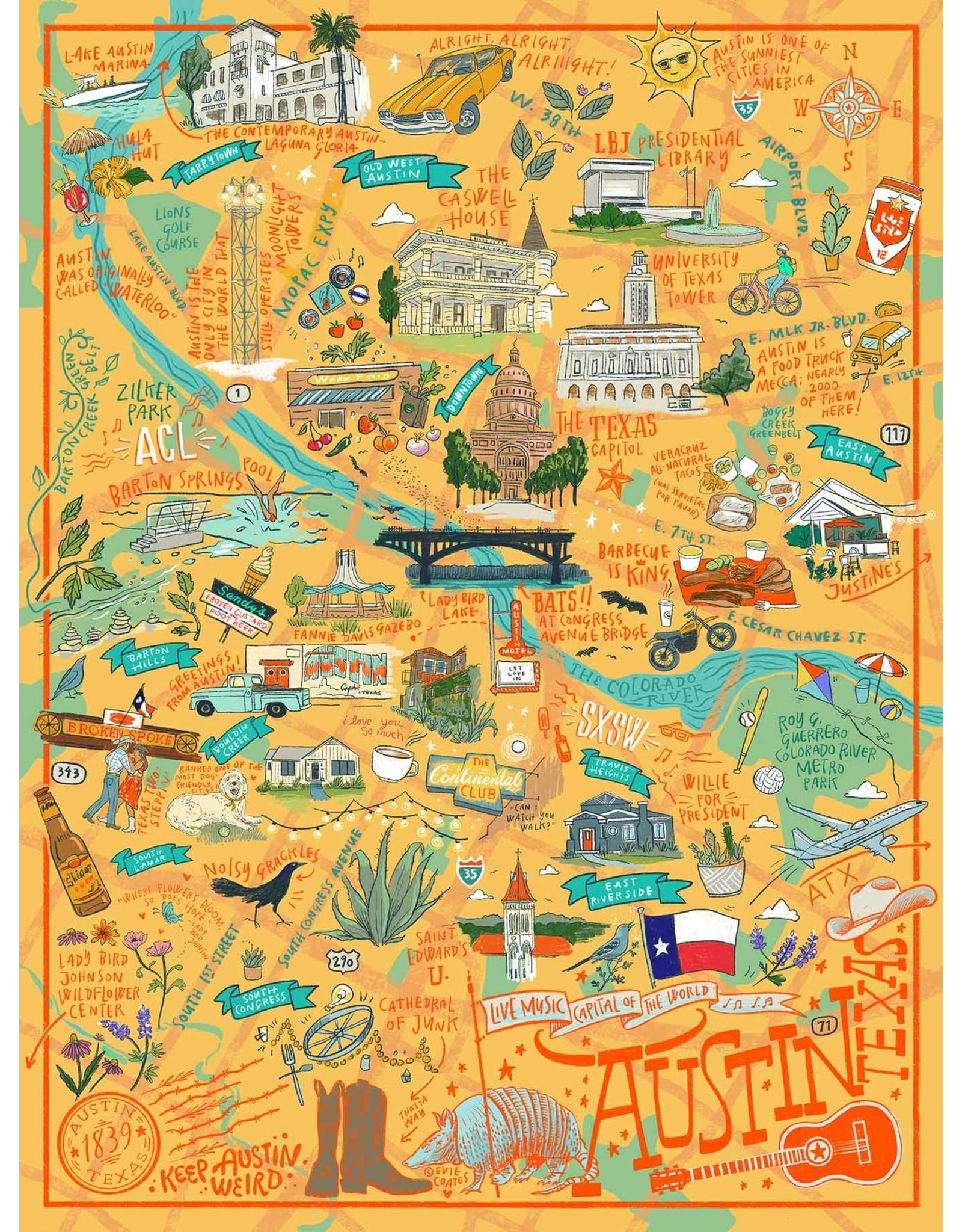 True South Austin, Tx  Puzzle