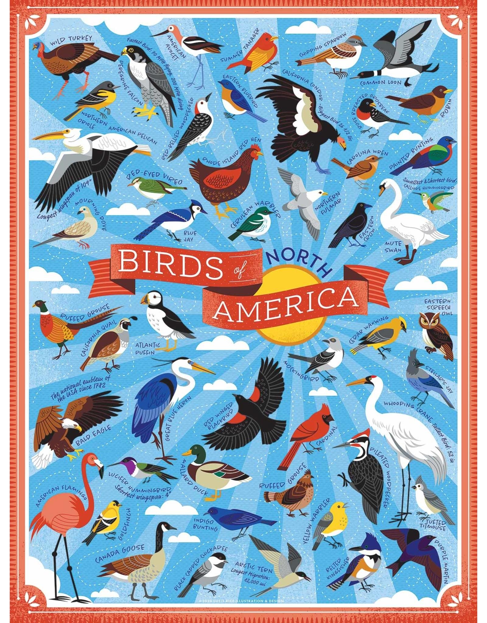 True South Birds of North America Puzzle