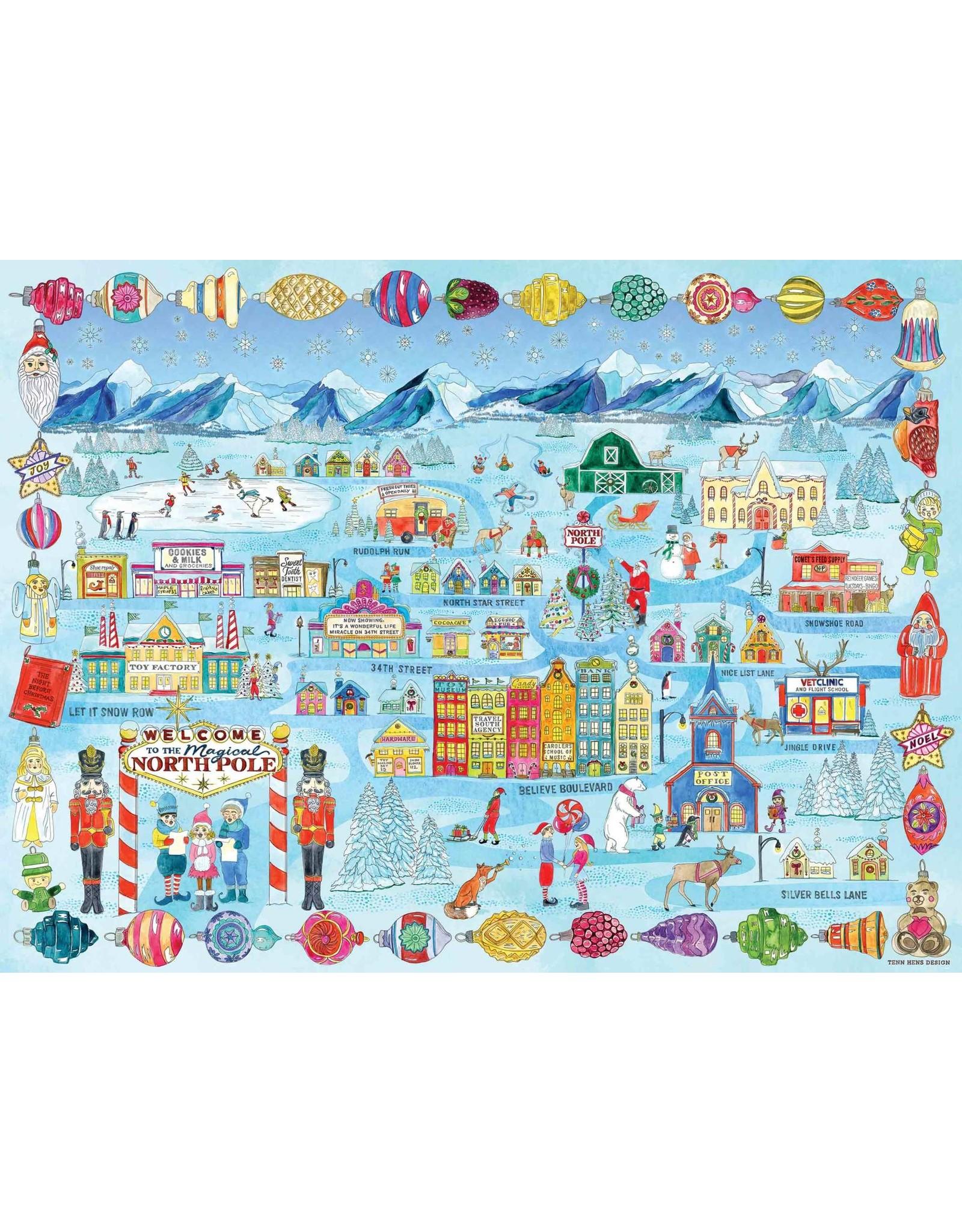 True South Santa's Home Town  Puzzle