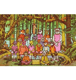 True South Woodland Animals Puzzle
