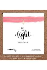 Be the Light Necklace- 14k Gold Vermeil