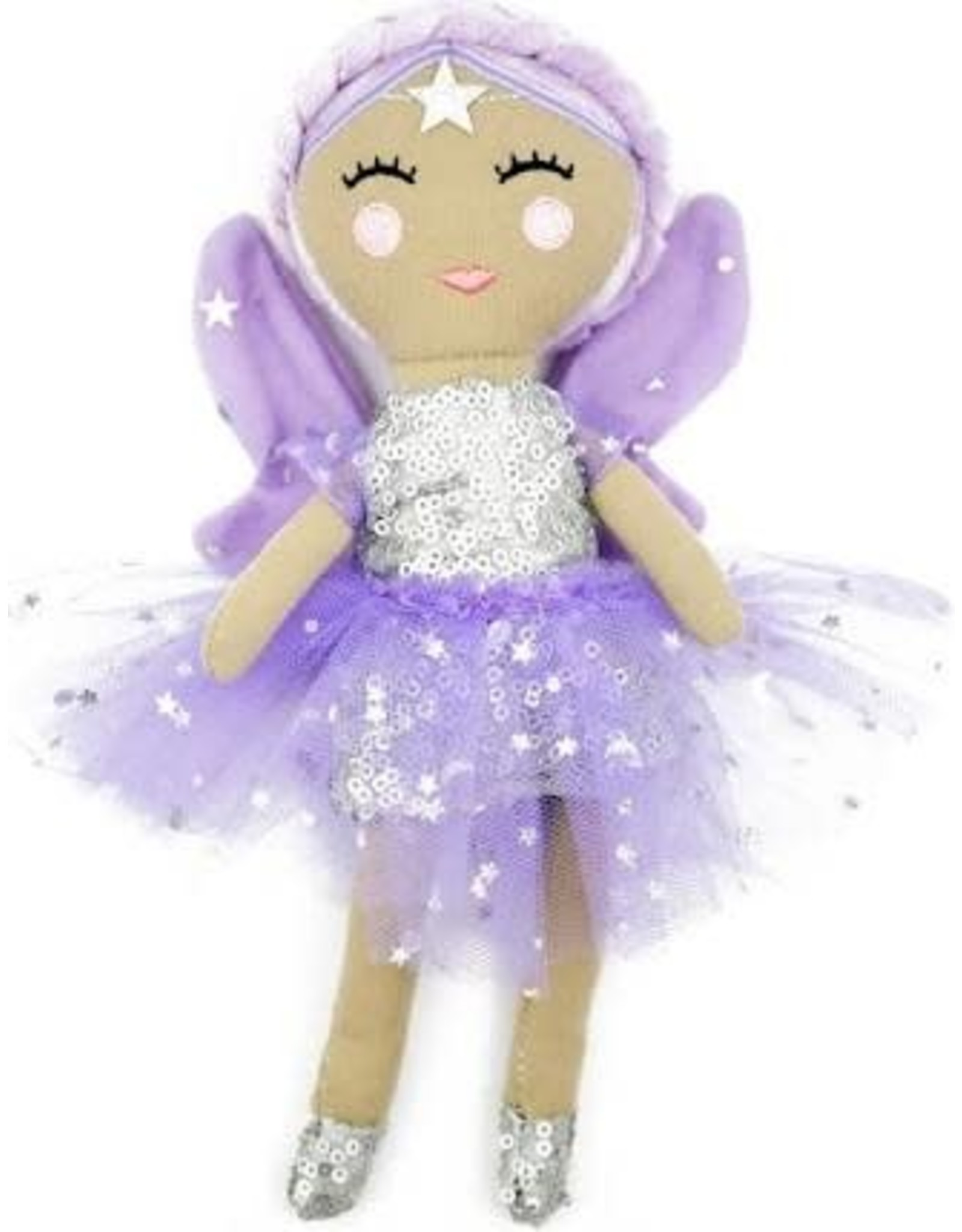Kind Culture The Good Deed Fairy Doll Belle Purple