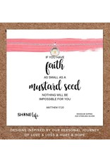 Mustard Seed Necklace - Silver