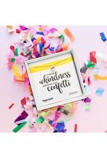 TinyShine Throw Kindness Around Like Confetti Necklace