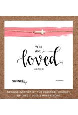 You Are Loved Necklace - 14K Vermeil