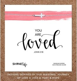 You Are Loved Necklace- Sterling Silver