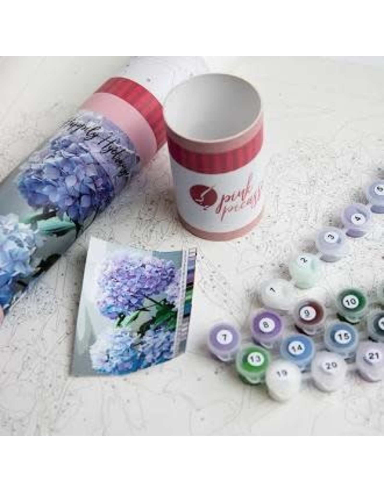 Pink Picasso Kit- Happily Hydrangea