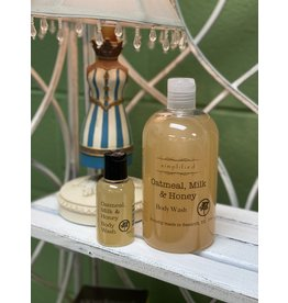 Oatmeal Milk & Honey Body Wash 2oz