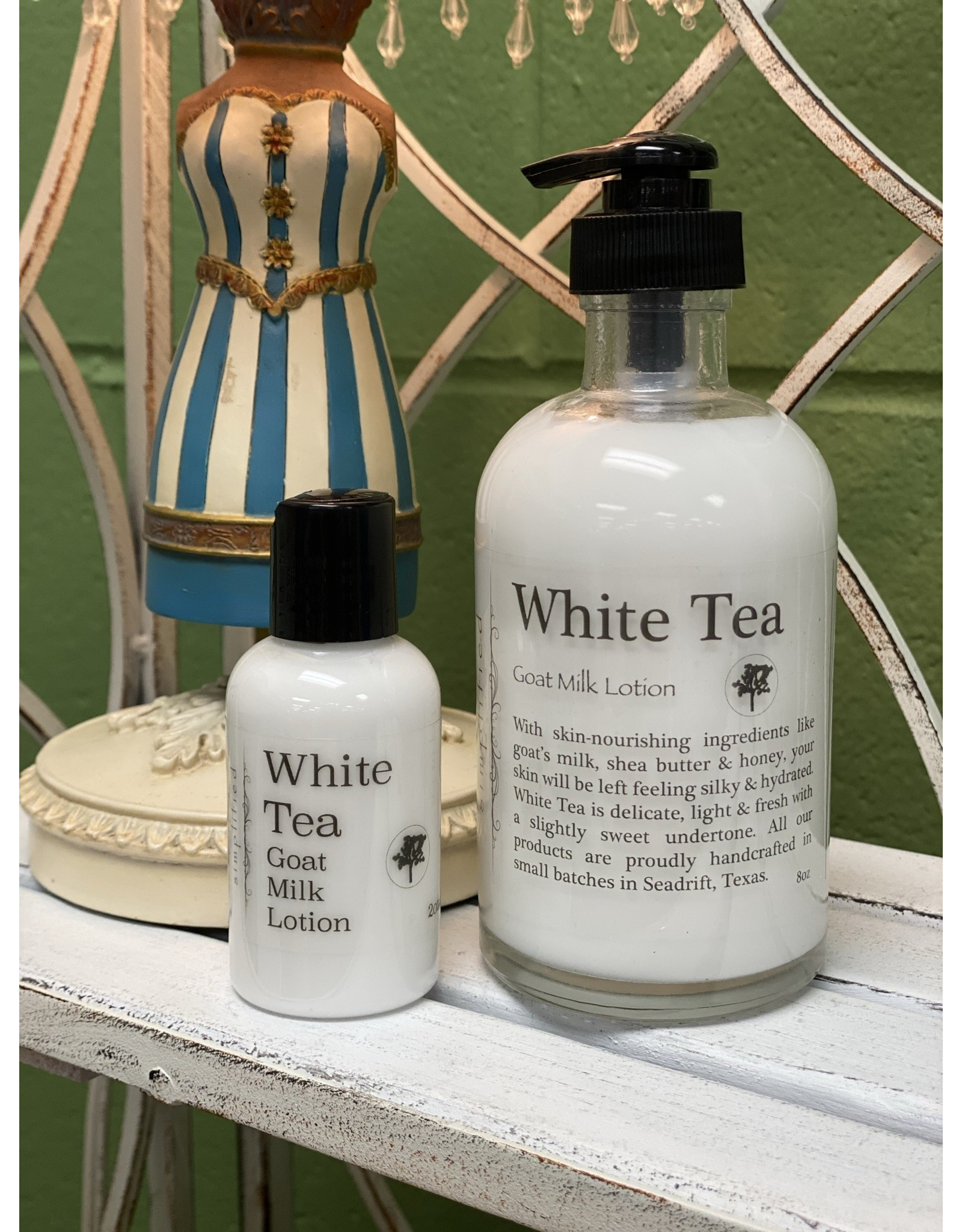White Tea Goat Milk Lotion 2oz