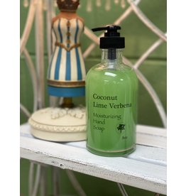 Coconut Lime Verbena Moisturizing Hand Soap 8oz