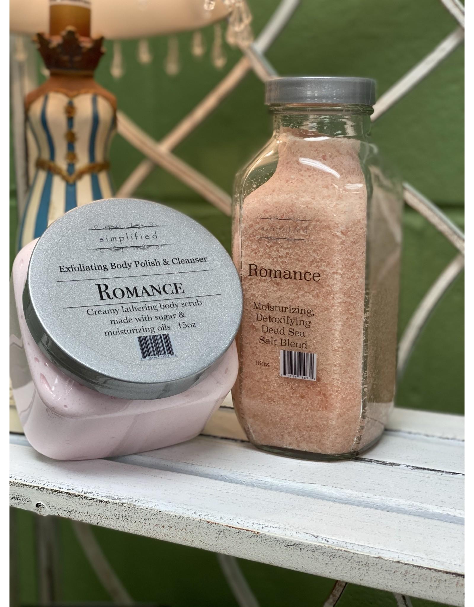 Romance Dead Sea Salt Blend